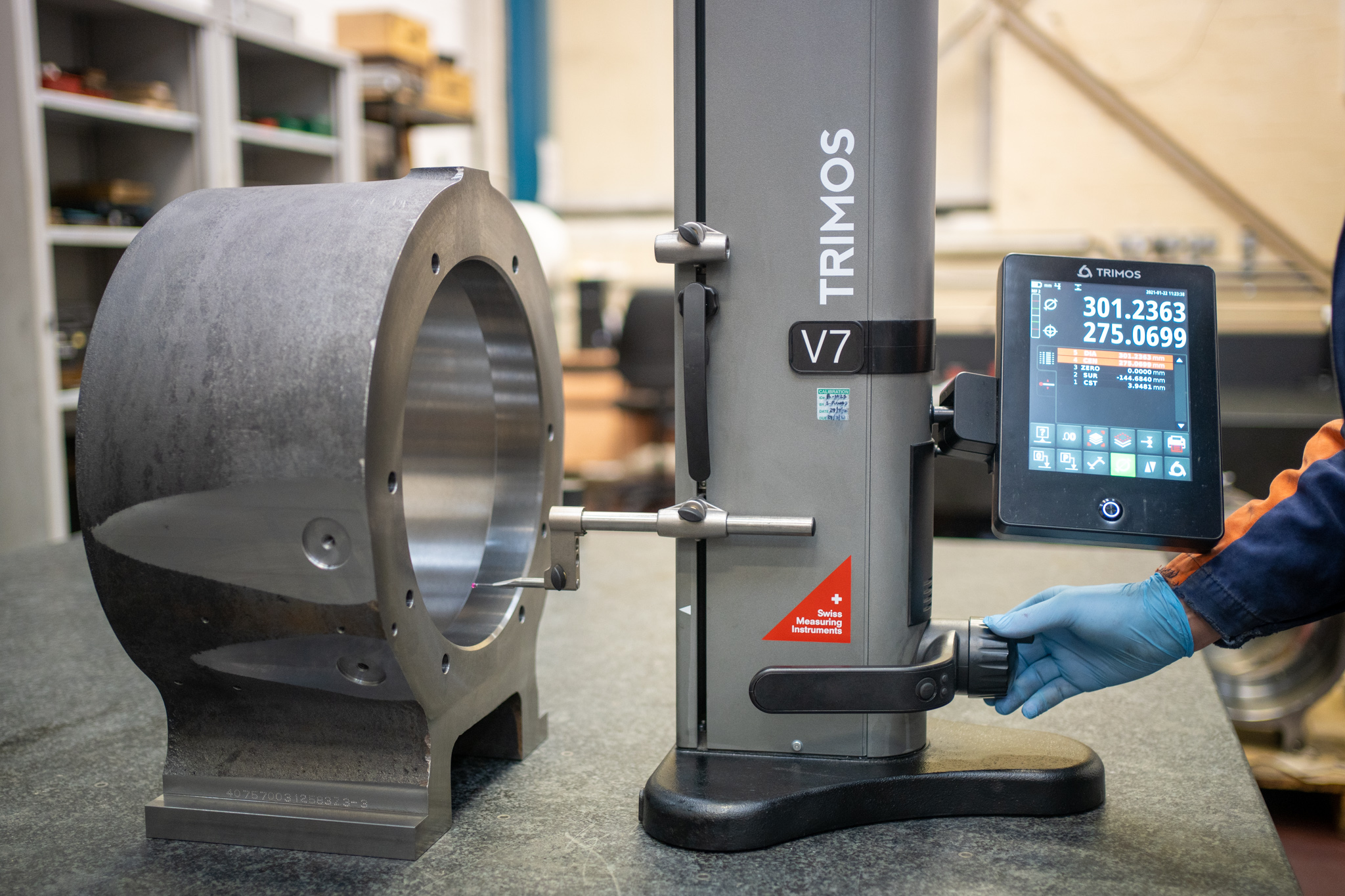 Chelburn Precision Improves Efficiencies with Trimos Height Gauge from Bowers Group